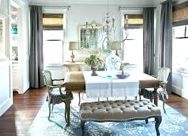 Formal Dining Room Drapes Curtain Ideas Modern Curtains Gray
