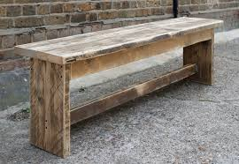 rustic timber bench scaffold boards i can do it pinterest