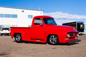 1955 Ford F-100 Custom - For Sale - The Iron Garage 132949 1955 Ford F100 Rk Motors Classic Cars For Sale 2wd Regular Cab Sale Near Birmingham Alabama 2142317 Hemmings Motor News 10 Vintage Pickups Under 12000 The Drive Listing Id Cc81091 Classiccarscom Pickup Truck For Best Image Kusaboshicom Bsi 1956 X100 Boasts Fseries Looks Coyote V8 Power Cc1133652 346050 Rear Wheel Michigan Muscle Old Panel F270 Kissimmee 2015 87400 Mcg