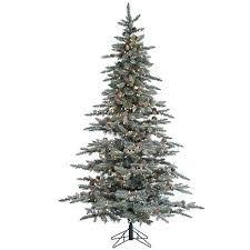 Sterling 7 1 2 Lightly Flocked Lighted Christmas Tree