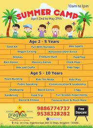 Pragyaa Summer Camp 2018
