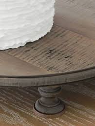 16 Rustic Wedding Cake Stand Round Country Wooden Grooms Decor E