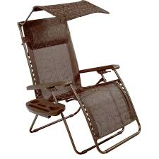 Anti Gravity Lounge Chair Cup Holder by Bliss Hammocks Recliner Zero Gravity Lounge Chair With Sunshade