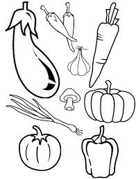 Awesome Collection Of Coloring Book Pages Fruits And Vegetables With Description