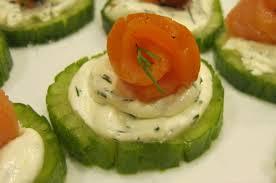 cucumber canapes smoked salmon cucumber canapés s pantry