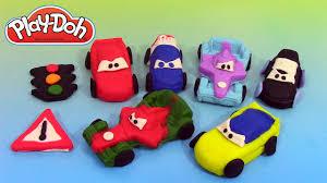 cars pate a modeler pâte à modeler play doh disney pixar cars 2 grand prix race mats