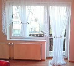 fertiggardine aus voile balkon set schöne weiße gardine hg wohnzimmer ebay