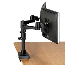 desk vivo dual monitor mount fully adjustable desk free stand