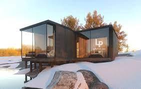 104 Antarctica House 2 Parallel Loftypod Modular Homes