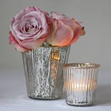 Pink Mercury Glass Bathroom Accessories by Decor Captivating Mercury Glass Vases For Home Accessories Ideas