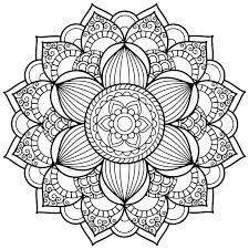 Elegant Mandala Art Coloring Pages 48 On For Kids With