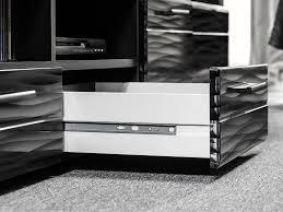 wohnwand hans wohnzimmer tv schrank modern schwarz hochglanz led