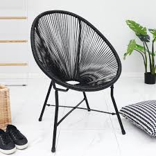 Details About String Moon Chair Acapulco Black Garden Patio Indoor Outdoor  Steel Tube Frame Coverking Genuine Leather Customfit Seat Covers Alpha Camp Folding Oversized Padded Moon Chair Masan Chair Rotaryhanovercom Mainstays Plush Saucer Multiple Colors Buy 5piece Round Ding Setting Harvey Norman Au Dreaming Cover Quick And Easy Recover A Stool Or Hotilystore Hot Lovely 16pcs Legs Table Foot Fauxfur Available In Sailor Car 2pc Set Uberraschend Plastic Fniture Moving For Pating 18 X 20 Cushions Wayfair