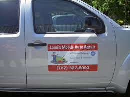 100 Business Magnets For Trucks Vehicle For Louies Mobile Auto Repair Wine Country Signs