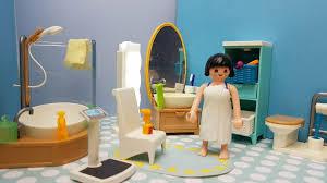 playmobil badezimmer bad figuren dusche badewanne möbel
