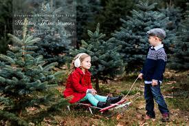 Becks Christmas Tree Farm by Pizzuti Cuties Photography Christmas Tree Farm Mini Sessions