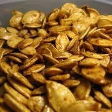 Roasted Shelled Pumpkin Seeds Recipe by Pumpkin Seed Recipes Allrecipes Com