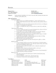 Resume Objective Examples For Teachers Elementary School Teacher Medical Field S