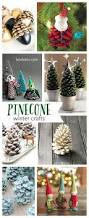Pine Cone Christmas Tree Decorations by Pretty Winter Crafts Using Pinecones Landeelu Com