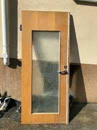 zimmertür küchentür mit undurchsichtigem glaseinsatz eur