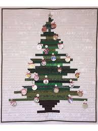 Oh Stripmas Tree Quilt Pattern