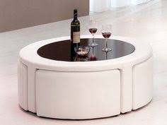 Round Coffee Table With Stools Underneath by Kitchen Tables With Bench Seating Round Coffee Table With
