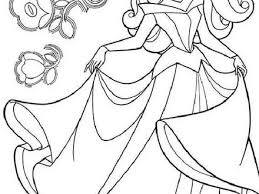Princess Aurora Dancing Coloring Pages Hellokidscom