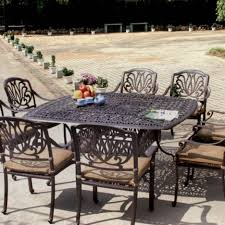 Walmart Patio Dining Sets With Umbrella by Dining Tables Outdoor Dining Table Sets 9 Piece Square Patio
