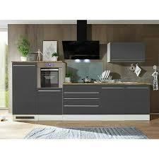 respekta premium küchenzeile berp320hwgc breite 320 cm