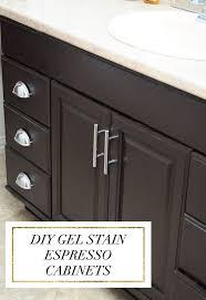 Restaining Oak Cabinets Forum by Best 25 Dark Oak Cabinets Ideas On Pinterest Kitchen Ideas