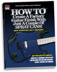 HOW TO Create A Factory Guitar Finish With Just Couple Of Spray Cans