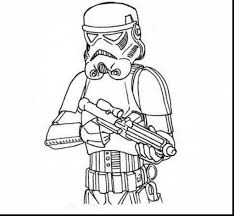 Extraordinary Star Wars Stormtrooper Coloring Pages With Color And