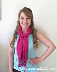 9 easy ways to wear a scarf