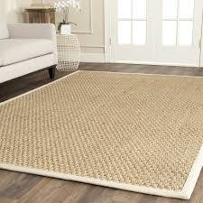 Decor: Safavieh 8x10 Natural Fiber Rug Basketweave With Sisal Rug ... Coffee Tables Sisal Rug Pottery Barn Room Carpets Silk Area Rugs Desa Designs Amazing Wool 68 Diamond Jute Wrapped Reviews 8x10 Vs Cecil Carpet Simple Interior Floor Decor Ideas With What Is Custom Fabulous Large Soft
