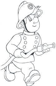Minion Printable Penny Tom Fireman Coloring Pages Download Print Free Sam Colouring Online