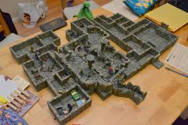 3d Dungeon Tiles Dwarven Forge by Check Out This Redbrand Hideout From Lost Mine Of Phandelver Made