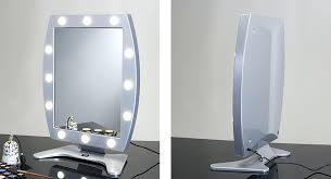 vanity mirror with light bulbs around it revlon makeup australia