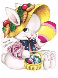 Vintage Easter Rabbit Clipart 79