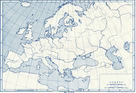 11 Blank Physical Map Of Europe