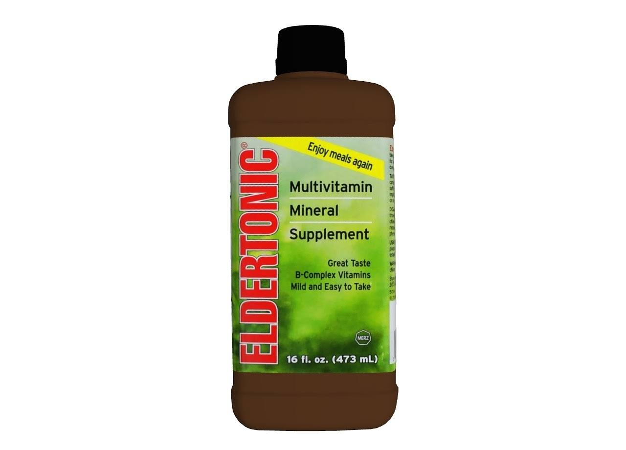 Eldertonic Multivitamin Mineral Supplement - 16oz