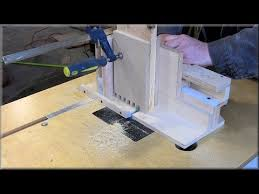 cutting box joints on the router table youtube