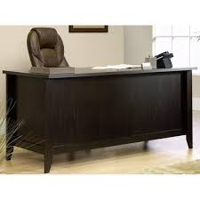 Sauder Shoal Creek Desk Jamocha Wood by Sauder 408920 Srta At Bizchair Com