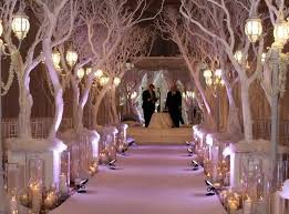 Fresh New Ideas For A Winter Wonderland Wedding Theme Weddings Themes