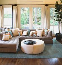 Home Decorating Ideas For Small Family Room by Modern Comfy White Sofa Combining Armchair Small Family Room