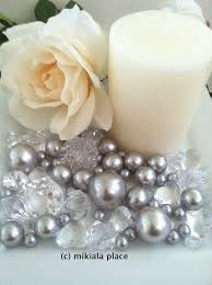 Turquoise Green Jumbo Pearls And Diamonds Ice Nuggets Hearts In Mix Sizes For Confetti Vase Fillers Candle Plate Decors