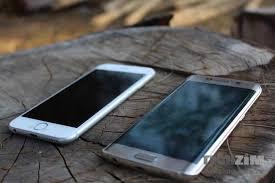 Apple iPhone 6 Samsung Galaxy S6 Edge