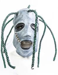 Slipknot Halloween Masks 2015 by Corey Taylor Style Latex Mask Slipknot Fancy Dress With Dreadlocks