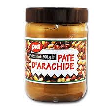 pate d arachide pcd pcd pâte d arachide 500g prointerdistribution