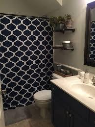 Half Bathroom Decorating Ideas Pinterest by Best 25 Navy Bathroom Decor Ideas On Pinterest Toilet Room