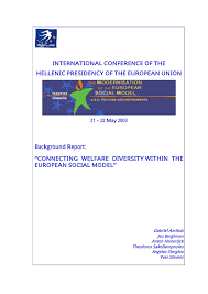 si e social syst e u connecting welfare diversity within the pdf available